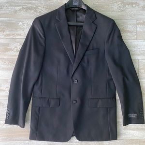 Jos. A Bank Men's Black Tailored Fit Sportscoat